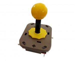 Przełącznik joystick 4 pozycje 2x(ON)-OFF-(ON) monostabilny 5A 250V plastikowy