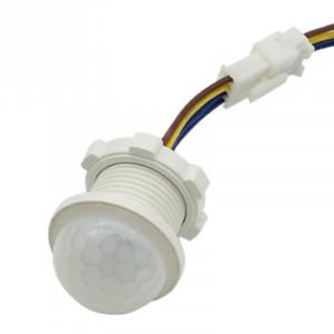 Czujnik ruchu 20mm 230V 40s do żarówek LED