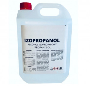 Izopropanol IPA (czysty alkohol izopropylowy) 99% 5L