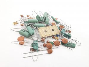 Zestaw kondensatorów 50szt