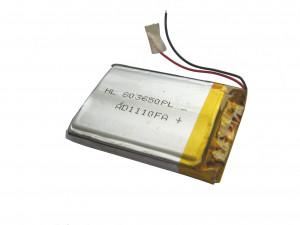 Akumulator Li-Poly 820mAh 3.7V typ2