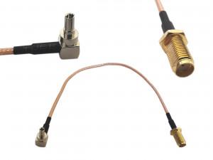 Adapter złącze SMA żeńskie-> CRC9 20cm