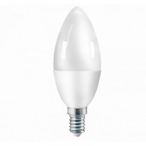 Żarówka LED 7W świeczka (odp. 60W) E14 biały zimny 6500K