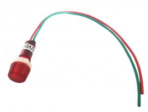 Kontrolka LED 12mm 12V czerwona Typ2