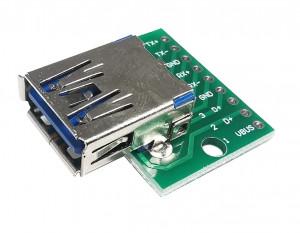 Gniazdo USB A 3.0 do płytki prototypowej