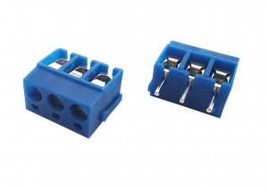 AK 5.00mm h=12.5 mm 3pin niebieskie (-) opak=100 szt