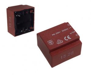 Transformator zalewany 1.5VA 230V/9V 167mA