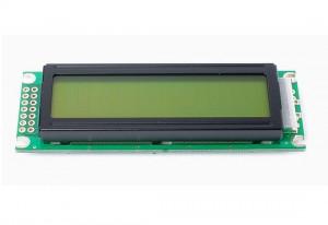 Wyświetlacz LCD 2x16 86x30mm zielone podświetlenie typ2