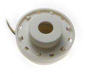 Buzer z generatorem, sygnał ciągły/ przerywany 45x26mm 3 przewody 24V