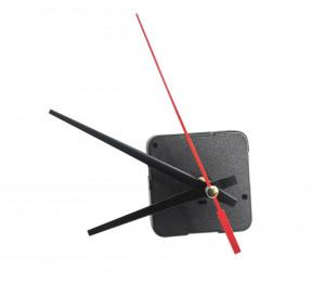 """Mechanizm kwarcowy zegara """"668"""" ze wskazówkami prostymi, gwint 11mm"""