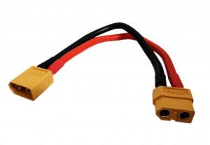 Kabel XT60 męsko-żeński 15cm