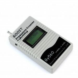 Tester pilotów/częstotliwości radiowych GY560