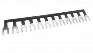 Szyna łączeniowa grzebieniowa 12pin do złączy barierowych