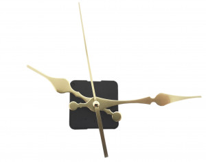 """Mechanizm kwarcowy zegara """"188"""" ze wskazówkami ozdobnymi MK15"""