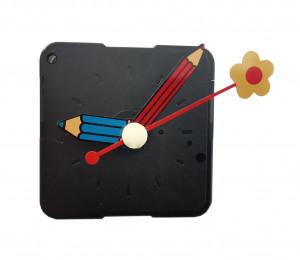 """Mechanizm kwarcowy zegara """"188"""" ze wskazówkami ozdobnymi MK17"""
