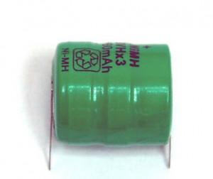 Bateria akumulator 3V6 80mAh 2 piny