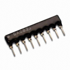 Drabinka rezystorowa 8X 15K Ohm 9 pin