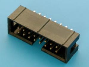 Wtyk IDC 16 pin prosty do druku opak=100 szt
