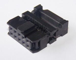 Gniazdo IDC 10 pin zaciskane na taśme opak=100 szt (pakowane luzem)