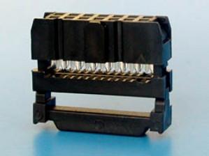 Gniazdo IDC 14 pin zaciskane na taśme opak=100 szt