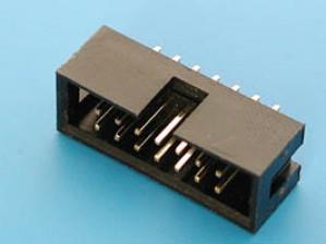 Wtyk IDC 14 pin prosty do druku opak=100 szt