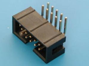 Wtyk IDC 10 pin kątowy do druku opak=100 szt