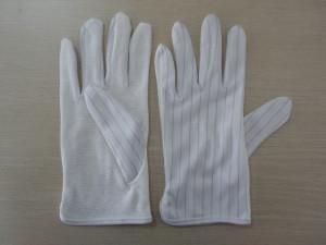 Rękawiczki antystatyczne ESD nakrapiane