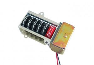 Licznik mechaniczny 12V AC i=100:1