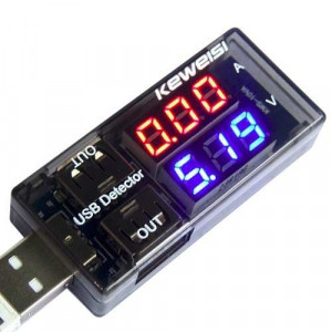 Tester USB woltomierz i amperomierz 10VA