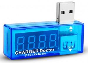 """Miernik napięcia USB """"charger doctor"""""""