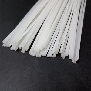 Spoiwo do spawania plastiku 2.5x5mm białe, długość=1m
