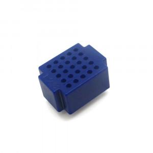 Mini płytka stykowa 25 pól niebieska