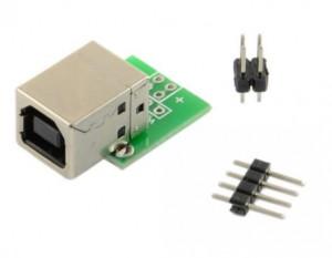 Gniazdo USB B do płytki prototypowej