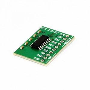Konwerter poziomów napięć MAX3232 RS232