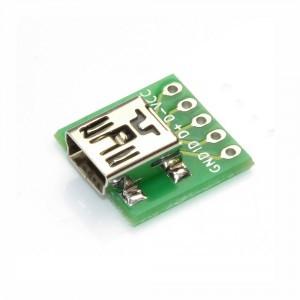 Gniazdo mini USB do płytki prototypowej