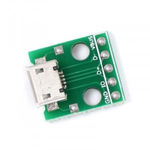 Gniazdo micro USB do płytki prototypowej TYP2
