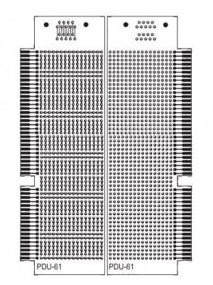 Płytka uniwersalna PDU61 53x163mm