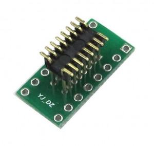 Adapter DIP16 na SOP16 z pinami