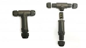 Rozdzielacz kablowy hermetyczny 2PIN M20