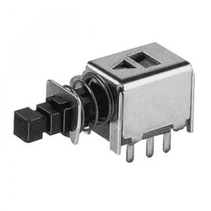 Isostat mini podwójny bistabilny PCB raster 2.54mm