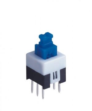 Przełącznik mini PB07B podwójny bistabilny PCB 7x7mm