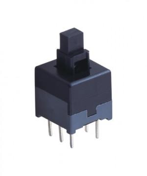 Przełącznik mini PB08B podwójny bistabilny PCB 8x8mm