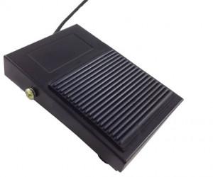 Przełącznik nożny ON-(ON) 10A 250V,bez osłony, z przewodem PN08