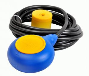 Wyłącznik pływakowy okrągły, przewód 1m