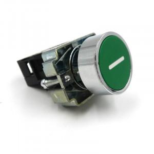 """PT-29G Przełącznik tablicowy monostabilny 10A 660V NO (normal open) """"1"""" zielony"""