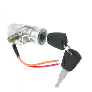 """Przełącznik z kluczykiem """"stacyjka"""" 10A/60V 3 pozycje Typ2"""