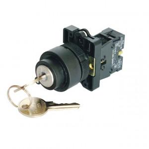 Przełącznik z kluczykiem 3A/240V XB2-EG2 ON-OFF