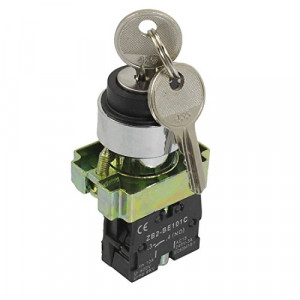 Przełącznik z kluczykiem 3A/240V XB2-BG21 ON-OFF