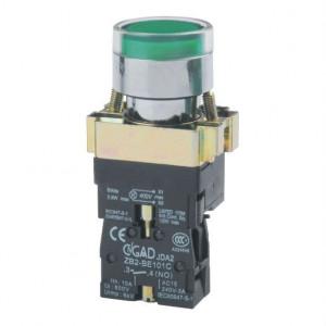 Przełącznik tablicowy XB2 BW3361 monostabilny 3A 240V zielony