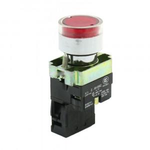 Przełącznik tablicowy XB2 BW3462 monostabilny 3A 240V czerwony